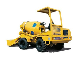 Autohormigonera Mixer Betonera 1m3 Carmix One Motorman