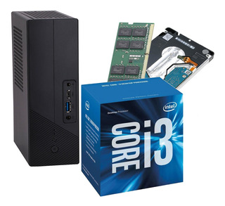 Mini Pc Gigabyte Intel I3 7100 + 1tb + 8gb Ddr4 Cuotas