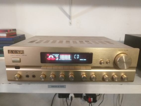 Amplificador Csr Av Csr-500 Bom Estado Ñ Gradiente, Pioneer
