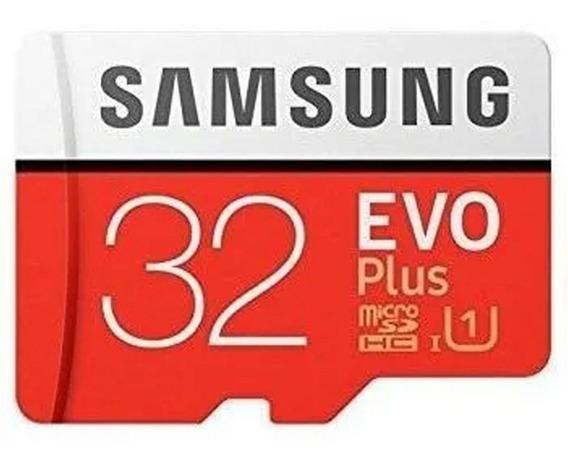 Cartão Micro Sdhc 32gb Samsung C10 Evo Plus Pro Raspberry Pi