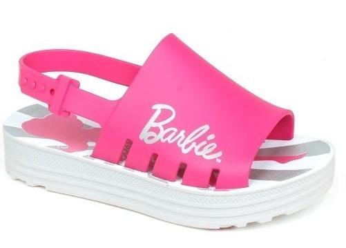 Sandália Infantil Barbie Trends Rosa - Grendene