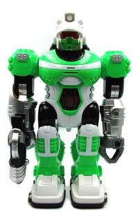Robot De Juguete Android Camina Con Super Luces De Colores