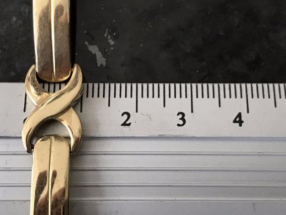 Pulseira Unissex Em Ouro 18k-750 Peso: 22.3 G Tamanho: 20cm