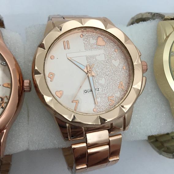 Relógio Feminino Baratos Bonitos Vários Modelos + Bateria