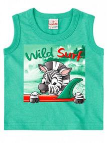 Regata Brandili Malha Zebra Wild Surf Verde