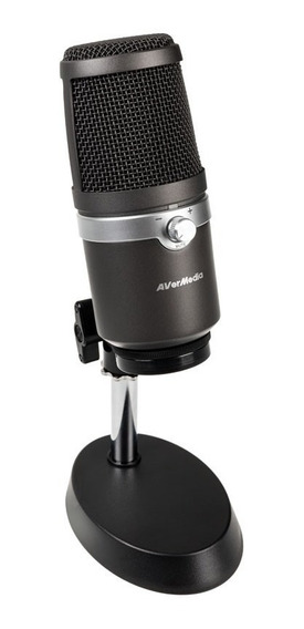 Microfone Profissional Am310 Usb - Avermedia + Nf + Garantia