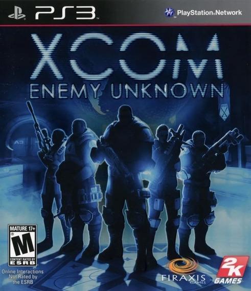 Jogo Ps3 Xcom Enemy Unknown Midia Fisica Lacrado!!