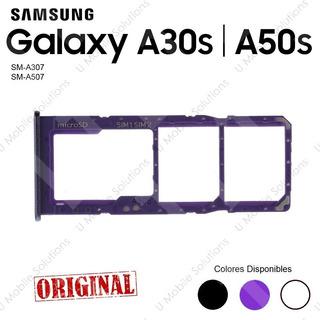Bandeja Porta Sim Samsung A30s A50s. A307 A507. Original Col