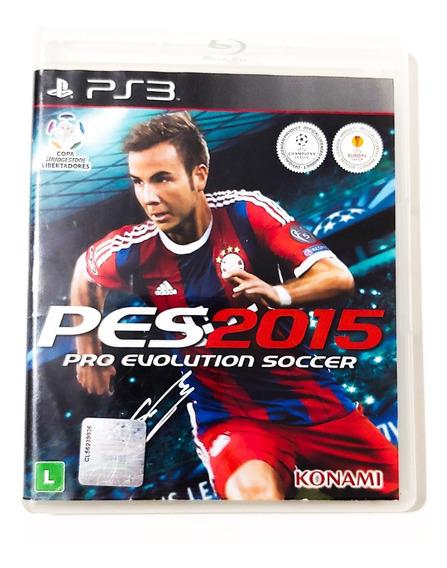 Pro Evolution Soccer 2015 Pes 15 Ps3 Original Mídia Física