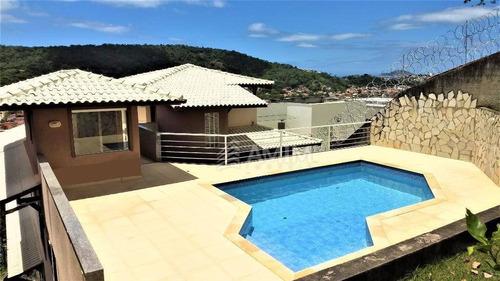 Casa Com 4 Dormitórios À Venda, 280 M² Por R$ 1.600.000,00 - Piratininga - Niterói/rj - Ca0471