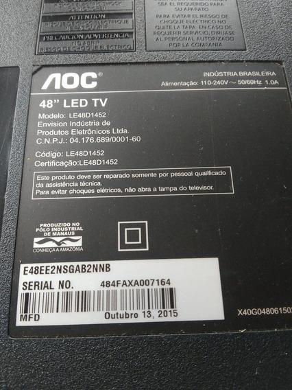 Base Ou Pedestral Da Tv Aoc Le48d1452