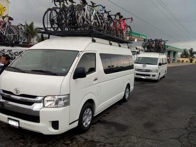 Renta De Camioneta Toyota Hiace 13 Pasajeros Con Operador