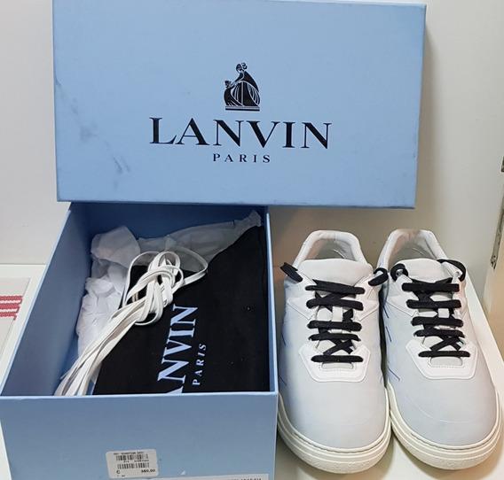 Tênis Sneaker Premium Lanvin Paris Original Na Caixa