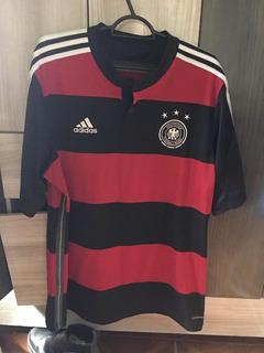 Camisa adidas Alemanha Copa 2014 Rubro-negra Tam. G