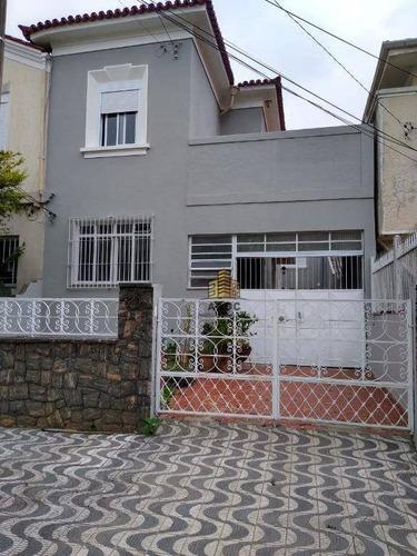 Imagem 1 de 22 de Casa Com 3 Dormitórios Para Alugar, 130 M² Por R$ 5.650,00/mês - Vila Clementino - São Paulo/sp - Ca0113