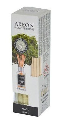 Aromatizante Importado Areon Home Sticks Black 85 Ml
