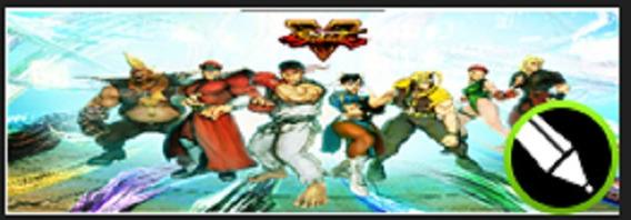 Arte Para Adesivo Em Arcade Tema Street Fighter V