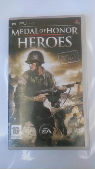 Jogo Medal Of Honor Heroes Psp Original