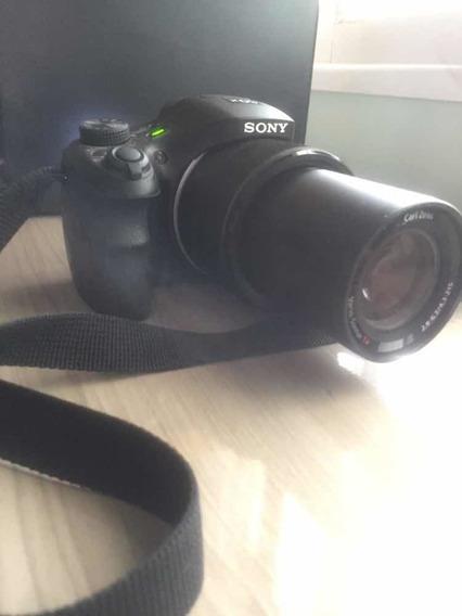 Máquina Fotográfica Sony Dsc Hx300 Com Zoom De 50 Vezes