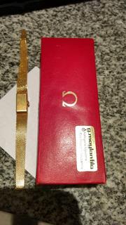 Reloj Omega Dama Oro 18k Macizo. Carga Manual