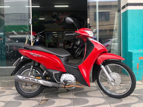 Honda Biz 110 I Vermelha 2016 Vermelha Novíssima!!!