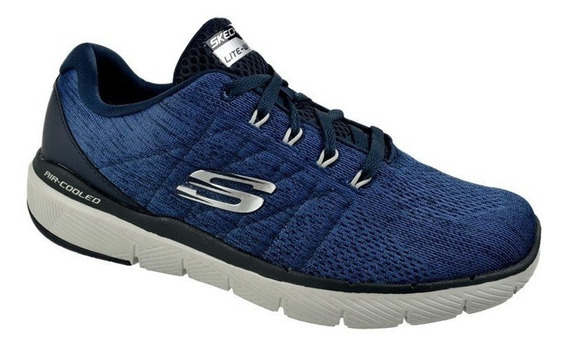 Tênis Skechers Flex Advantage 3.0 Stally Masculino - Marinho