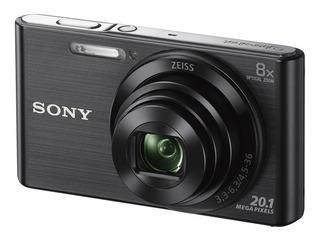 Cámara Sony Dsc W830 Sensor 20.1 Mp Zoom 8x Panorámico