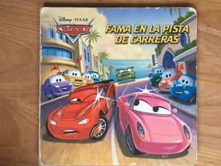 Libro Disney Cars Fama En La Pista