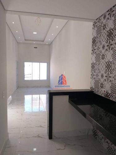 Imagem 1 de 11 de Casa Com 2 Dormitórios À Venda, 70 M² Por R$ 500.000,00 - Jardim Terramérica Ii - Americana/sp - Ca1635