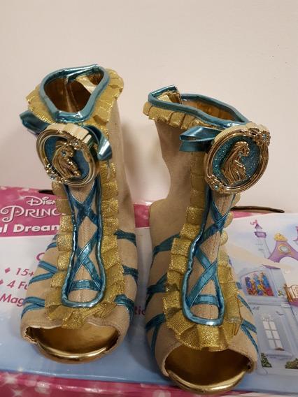 Sapatos Da Pocahontas (fantasia) Disney Store Importado Eua!