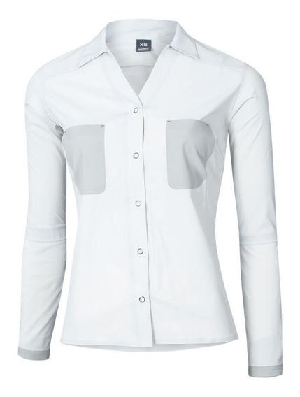 Camisa Mujer Ansilta Delta Protección Uv 50 Liviana Verano