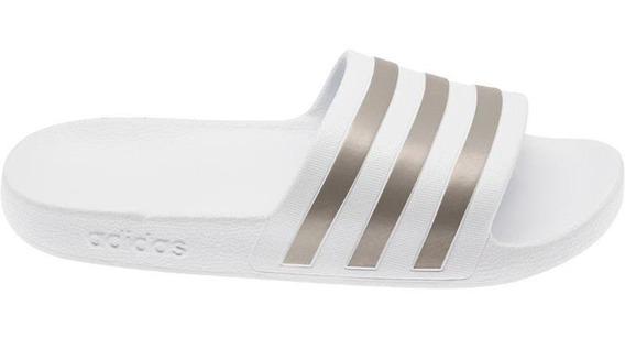 Chinela adidas Adilette Aqua Unisex Blanco