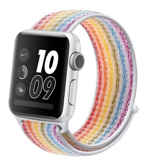 Correa Genérica Sport De Nylon Para Apple Watch