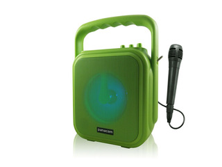 Panacom Parlante Portatil Usb Mic Bluetooth Sp-3048 Green 20