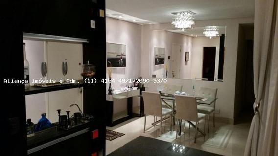 Apartamento Para Venda Em Barueri, Empresarial 18 Do Forte, 2 Suítes, 2 Vagas - 3072_2-461023