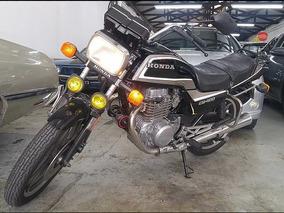 Honda Cb400 Placa Preta - 1983/1984 - Cb 400 - Linda