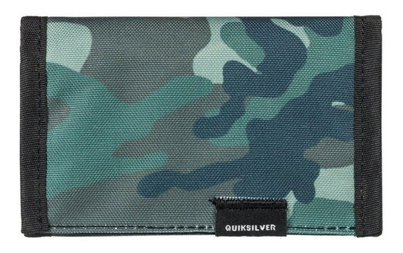 Cartera Quiksilver The Everydaily Plus Ii Tri-fold Camuflaje