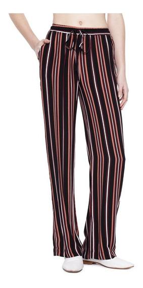 Pantalon Born Oxford Rayon Tiro Medio Mujer Complot