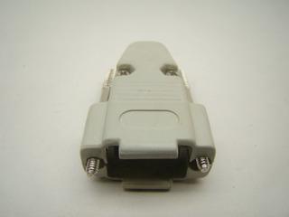 Capa Plastica Especial P/ Conector Db9 Serial E Hd15 Vga 5un