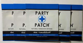 Party Patch Parche Anti Resaca Anti Cruda 25 Piezas