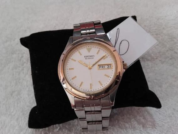 Relógio Seiko Quartz 7 N43, Masculino (es06) !