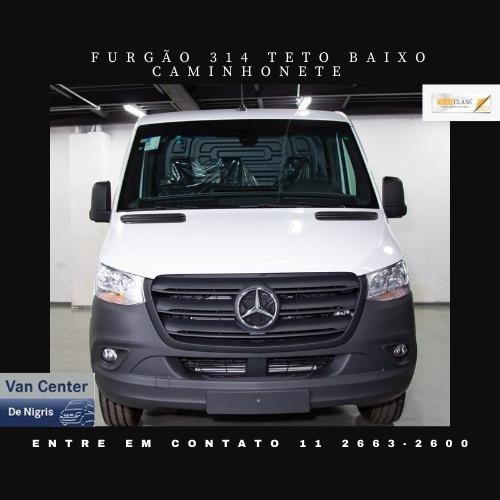 Imagem 1 de 8 de Mercedes-benz Sprinter Furgão Teto Baixo 314 Camionete