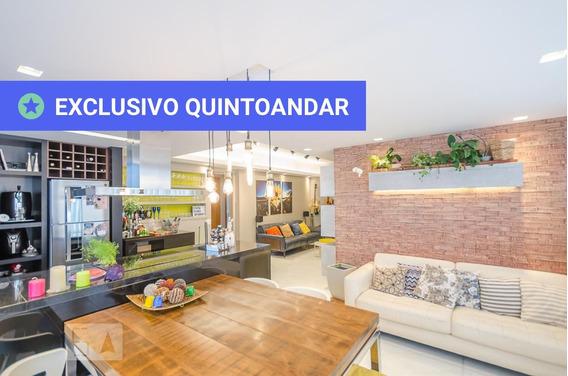 Apartamento No 15º Andar Mobiliado Com 3 Dormitórios E 3 Garagens - Id: 892967856 - 267856