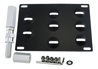 Portaplaca Towplate Bmw E46 E90 Mini R56 Kit Recolocacion