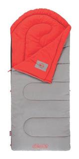 Saco De Dormir Camping Dexter Point Extra Vermelho Coleman