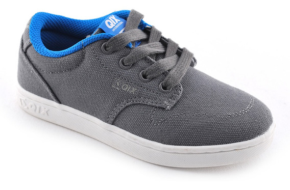 Zapatilla Base Cvs Grey Qix Niño