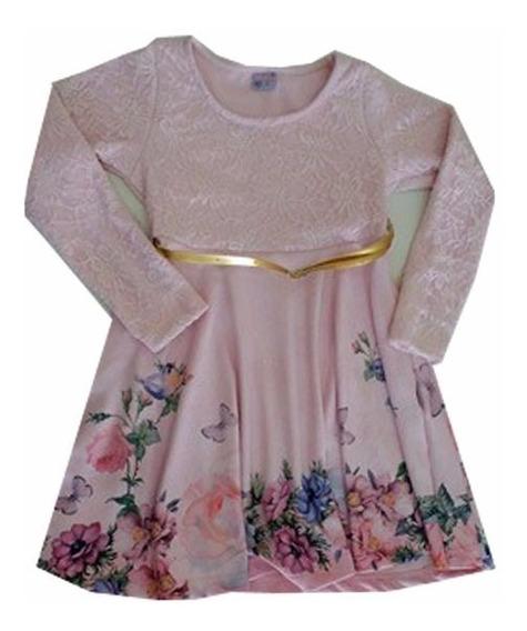 Vestido Feminino Infantil Criança - 011398