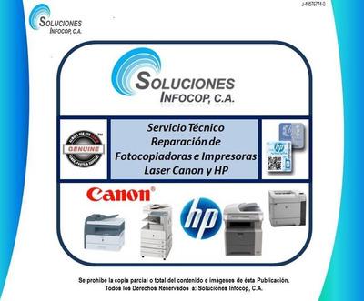 Servicio Tecnico Reparación Impresoras Laser Hp Y Canon