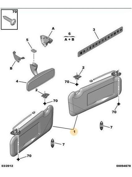 Kit Parasoles Peugeot 307