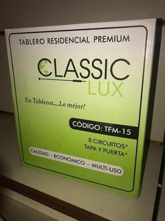Tablero Residencial 8 Circuitos Con Puerta Classic Lux